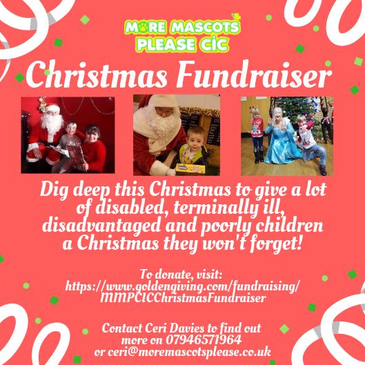 Christmas Fundraiser.Christmas Fundraiser More Mascots Please